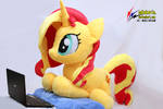 Life Size Sunset Shimmer Plush