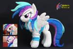 OC pony plush commission - Ray Light
