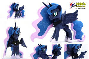 expanding wings Luna plush by nekokevin