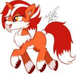 Fox pony
