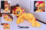 Sunset shimmer lifesize plush 2