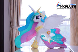 Princess Celestia plush by nekokevin