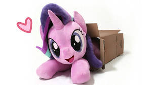 Starlight Glimmer plush in box