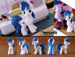 Blue Flame Pony Custom Plush