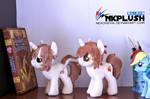 Pony plushies commission