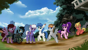 Group picture of my OC by nekokevin