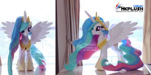 Princess Celestia plush 3-2