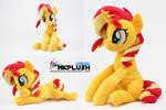 Sunset Shimmer plush by nekokevin