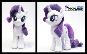 Rarity plush by nekokevin