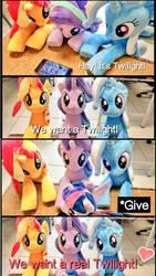 Unicorns' pleading by nekokevin