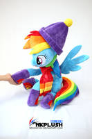 Rainbow Dash plush by nekokevin