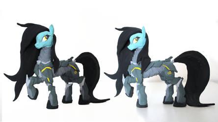 MLP OC Sculpture Mechanical pony 05 by nekokevin
