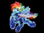 Rainbow Dash in Armor