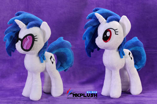 DJ Pon-3 Vinyl Scratch plush