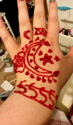 henna  by mimikoheartnet101