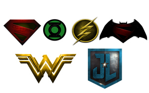 My DCEU: Movie Logos Phase 1 by robcheskord3442