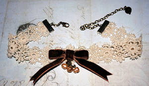Lace Choker by OphanimGothique