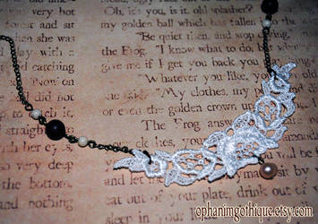 Lace Necklace by OphanimGothique