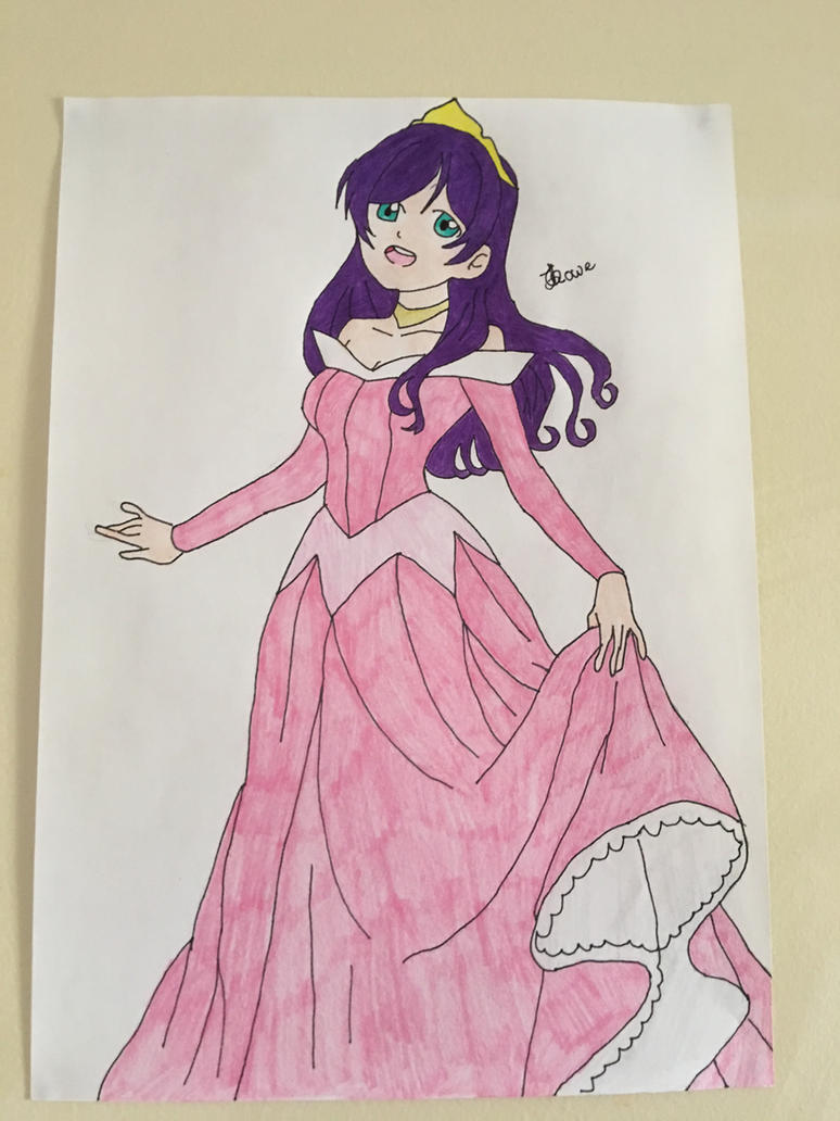 Love Live School Idols Nozomi as Princess Aurora by Usagicrystal12