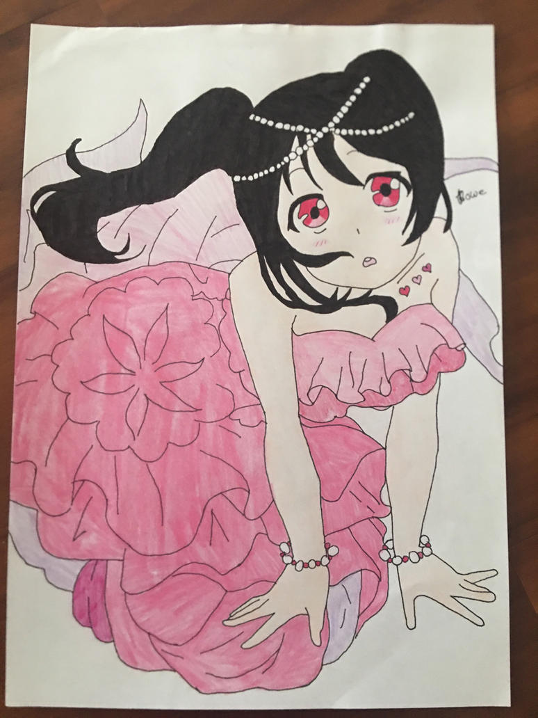 Love Live School Idols Nico Yazawa As A Mermaid  by Usagicrystal12