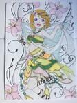 Love Live School Idols Hanayo Koizumi Fairy  by Usagicrystal12