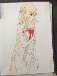 Sword Art Online Asuna Yuki  by Usagicrystal12