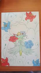 Pokemon Roserade  by Usagicrystal12