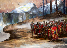 Roman legion by szalstudio