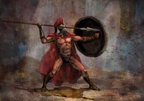The Spartan by szalstudio