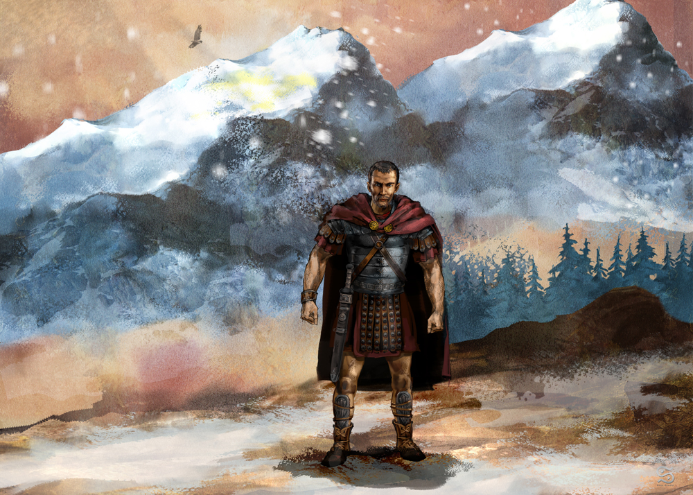 Roman officer by szalstudio