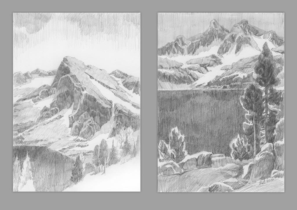Mountains by szalstudio