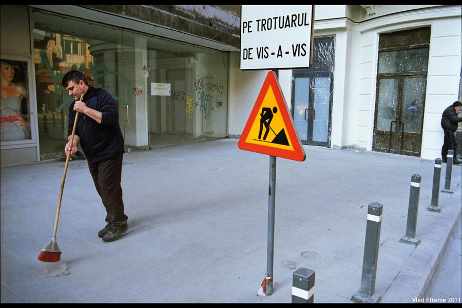 man at work by veftenie