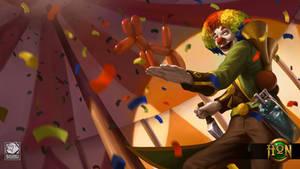 HoN - Clown Scoutzo by ZacharyMadere