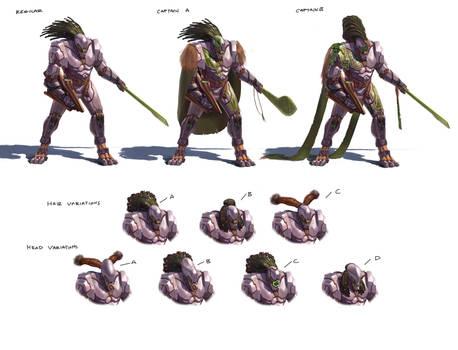 Alien Chieftan