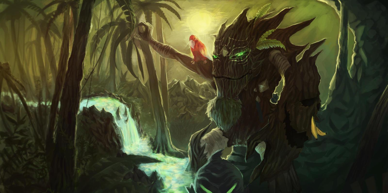 Jungle Maokai by HyperShadowX1