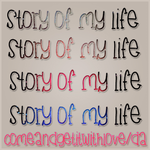 Story of my life,Styles