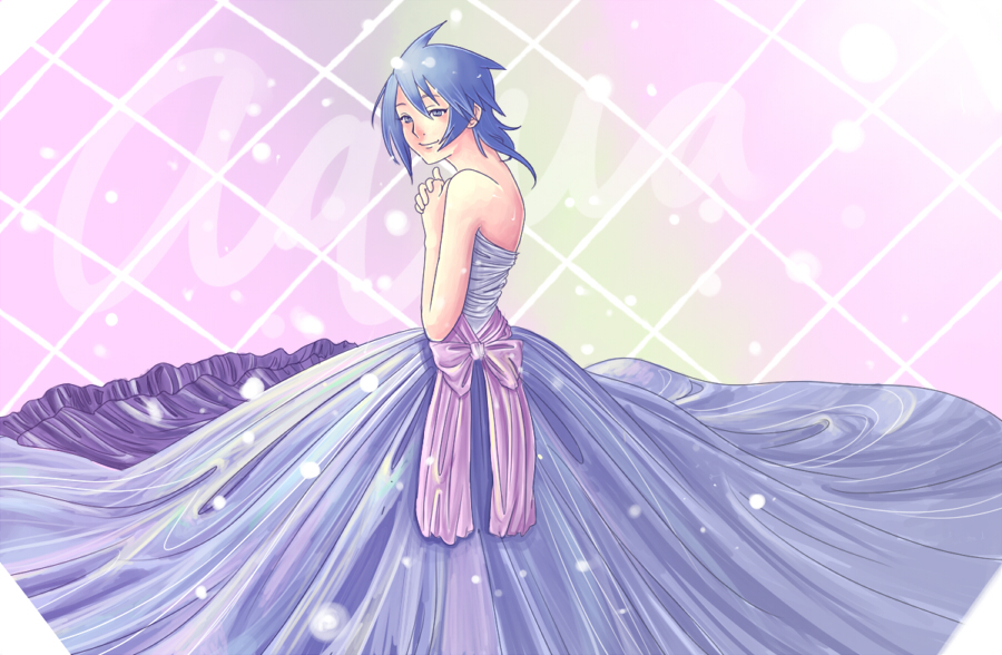 Aqua Kingdom Hearts Dress by BayneezOne on DeviantArt