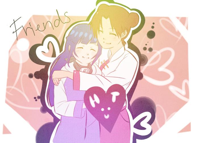 Hinata Tenten by BayneezOne