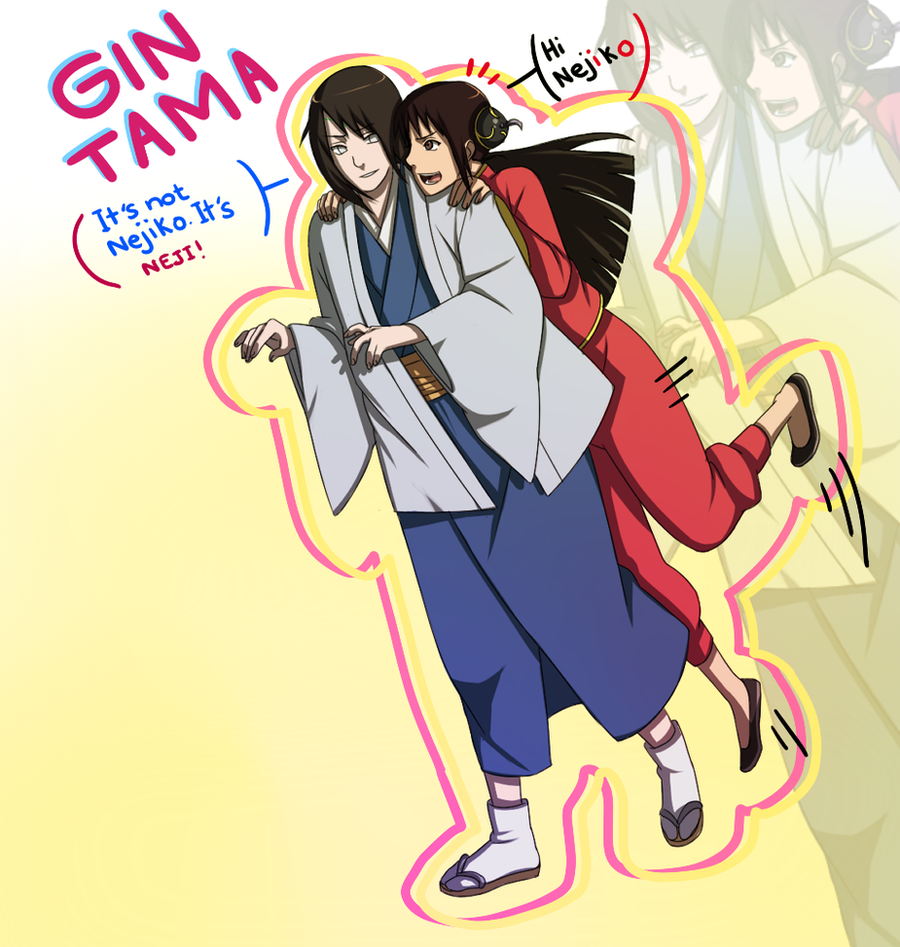 Gintama Katsura Kagura Nejiten Cosplay By BayneezOne