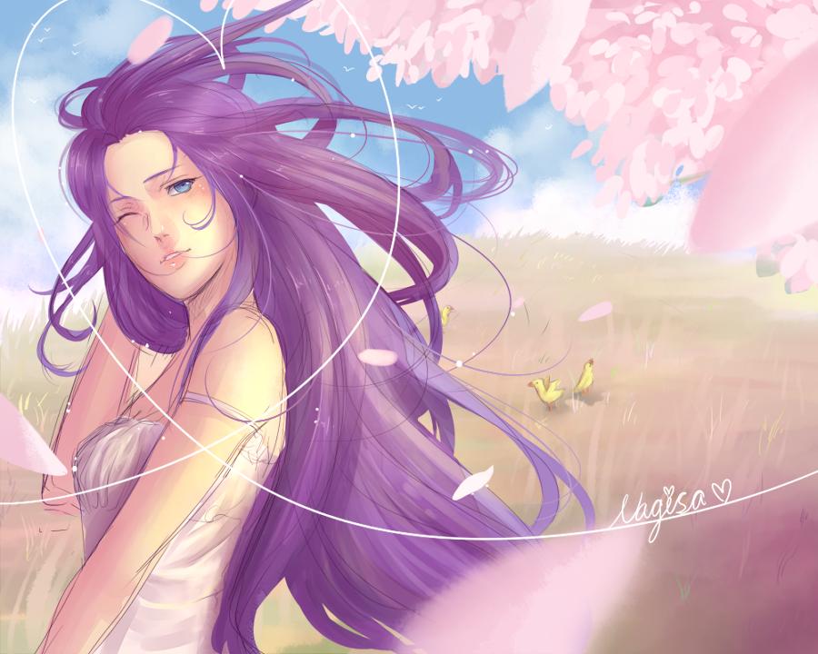 Nagisa Springtime of sexyness :eyes: by BayneezOne