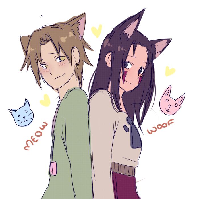 Cat And Dog Kiss Manga
