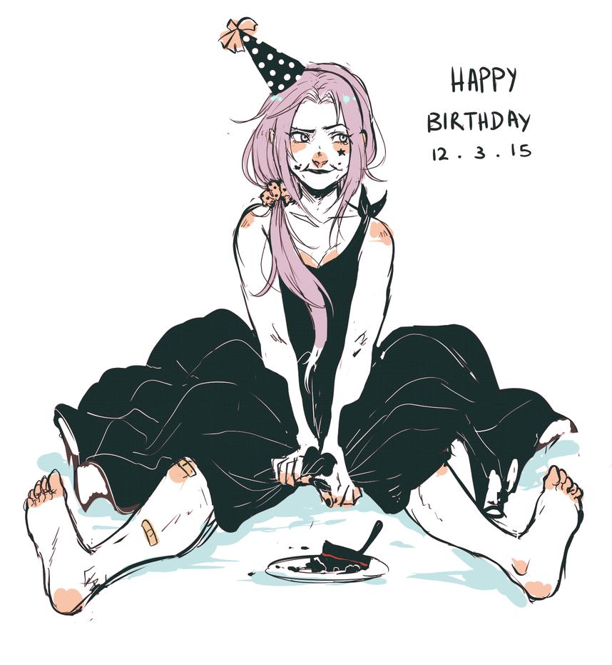 Happy birthday dorky---I mean ducky by BayneezOne