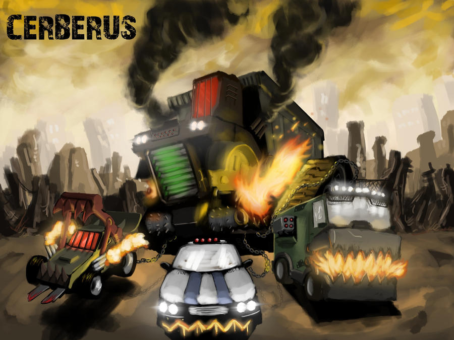 Twisted metal 2012 boss concept fanart by helios437 on - Sweet tooth wallpaper twisted metal ...
