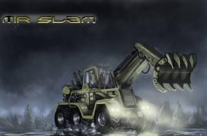 MR SLAM -Twisted Metal by Helios437