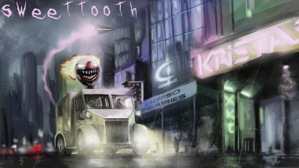 Twisted metal sweet tooth by helios437 on deviantart - Sweet tooth wallpaper twisted metal ...