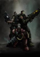 Enforced Commandos by Helios437