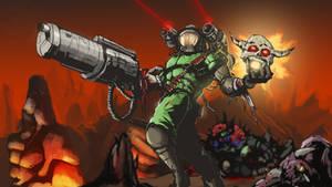 Brutal Doomage! by Helios437