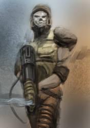Quake Ranger Speedpaint by Helios437