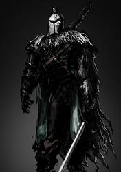 Dark souls 2 Knight by Helios437