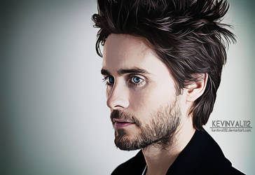 Jared Leto - Digital Painting by kevinval112